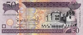 Dom. Republik/Dominican Republic P.176b 50 Pesos Oro 2008