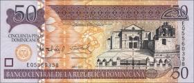 Dom. Republik/Dominican Republic P.183b 50 Pesos Dom. 2011