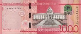 Dom. Republik/Dominican Republic P.neu 1000 Pesos Dominicanos 2015 (1)