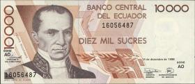 Ecuador P.127e 10000 Sucres 1998 (1)
