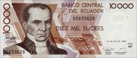 Ecuador P.127f 10000 Sucres 1999 (1)