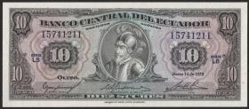 Ecuador P.109 10 Sucres 1975 (1)