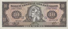 Ecuador P.121 10 Sucres 1986 (1)