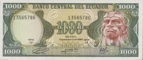 Ecuador P.125a 1000 Sucres 1984 (1)