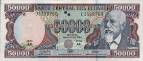 Ecuador P.130c 50000 Sucres 1999 (1)