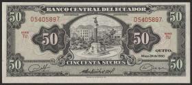 Ecuador P.116e 50 Sucres 1980 (1)