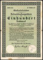 Ehestandsdarlehen 100 Reichsmark 1933 (4)