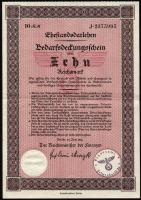 Ehestandsdarlehen 10 Reichsmark 1933 (2) mit Stempel