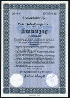 Ehestandsdarlehen 20 Reichsmark 1933 (1)