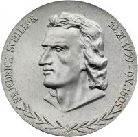 Ehrenmedaille Schiller-Ehrung 1955