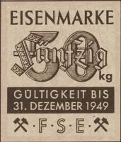 Eisenmarken - Ersatzgeld FSE 50 kg (1)