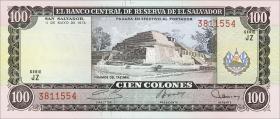 El Salvador P.122 100 Colones 1978 (1)