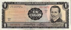 El Salvador P.115a 1 Colon 1971 (1)