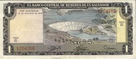 El Salvador P.120 1 Colon 1974 (1)