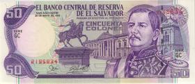 El Salvador P.143 50 Colones 1995 (1)