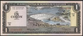 El Salvador P.125a 1 Colon 1977 (1)