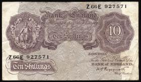 Großbritannien / Great Britain P.366 10 Shillings (1940-48) (3)