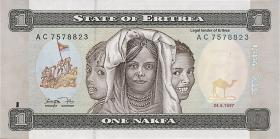 Eritrea P.01 1 Nakfa 1997 (1)