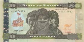 Eritrea P.10 50 Nakfa 2011