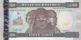 Eritrea P.5 50 Nakfa 1997 (1)