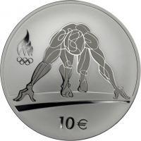 Estland 10 Euro 2016 Olymp. Spiele Rio - Sprinter PP