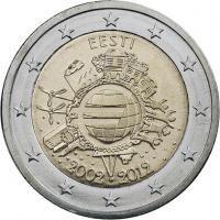 Estland 2 Euro 2012 Euro-Bargeld