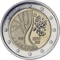 Estland 2 Euro 2017 100 Jahre Unabhängigkeit
