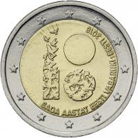 Estland 2 Euro 2018 100 Jahre Republik