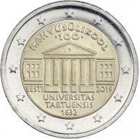 Estland 2 Euro 2019 100 Jahre Universität Tartu