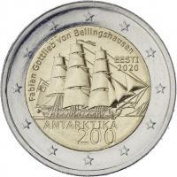 Estland 2 Euro 2020 100 Jahre Entdeckung der Antarktis