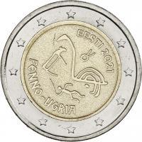 Estland 2 Euro 2021 Finno-Ugurisch
