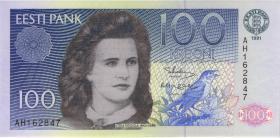 Estland P.74a 100 Kronen 1991