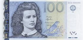 Estland / Estonia P.82a 100 Kronen 1999 (1)