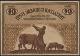 Estland / Estonia P.46a 10 Marka 1919 (2)