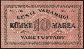 Estland / Estonia P.53a 10 Marka 1922 (1/1-)