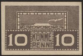 Estland / Estonia P.40b 10 Penni (1919) (1)