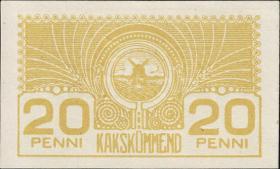 Estland / Estonia P.41 20 Penni (1919) (1)