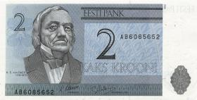 Estland / Estonia P.70a 2 Kronen 1992 (1)