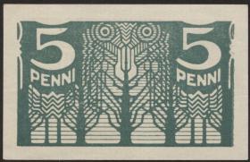 Estland / Estonia P.39 5 Penni (1919) (1)