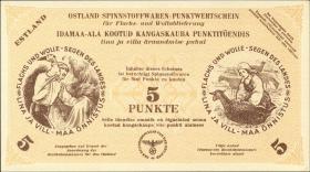 Estland / Estonia ES03: 5 Punkte 30.4.1943 (1)