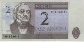 Estland / Estonia P.85a 2 Kronen 2006 (1)