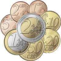 Finnland Eurokursmünzensatz 2007 (lose)