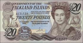 Falkland Inseln P.15 20 Pounds 1984 (1)