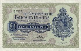 Falkland Inseln P.08b 1 Pound 1974 (1)