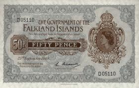 Falkland Inseln P.10a 50 Pence 1969 (1)