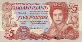 Falkland Inseln P.17 5 Pounds 2005 (1)