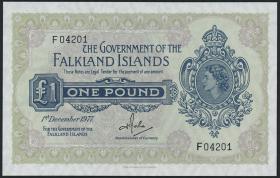 Falkland Inseln P.08c 1 Pound 1977 (1)