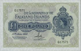 Falkland Inseln P.08d 1 Pound 1982 (1)