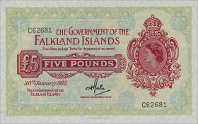 Falkland Inseln P.09b 5 Pounds 1975 (1)