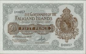 Falkland Inseln P.10b 50 Pence 1974 (1)